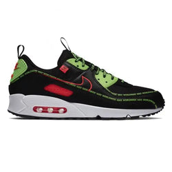 Nike Air Max 90 SE Black/Flash Crimson-Green Strike