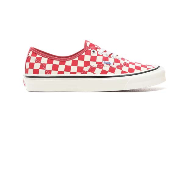 Vans Authentic 44 DX (Anaheim Factory) Checkerboard OG Red