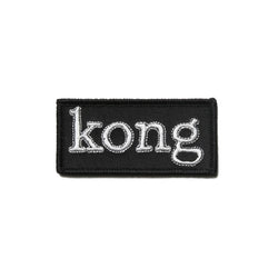 Kong Box Logo Patch Black