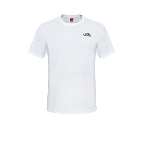 The North Face SS Red box Tee TNF White - Kong Online - 1