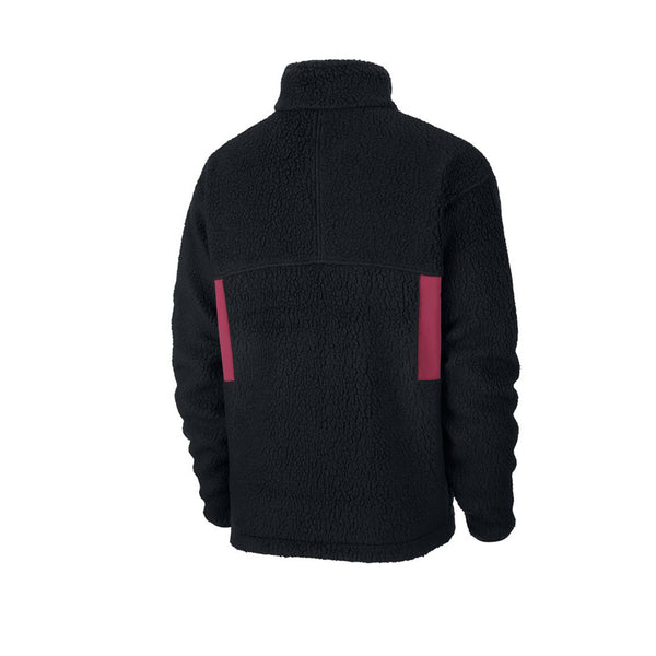 Nike ACG Microfleece Jacket Black Villain Red