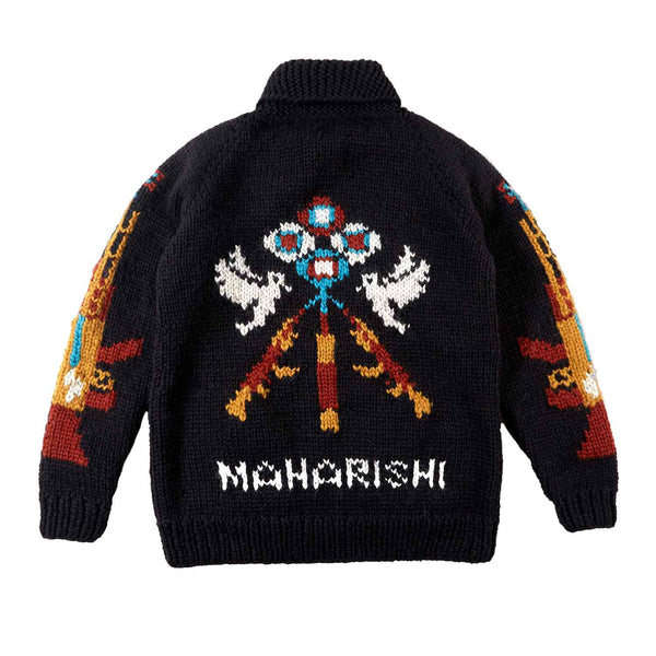 Maharishi Anti-War Cowichan Virgin Wool Black
