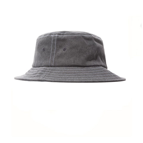 Stussy Washed Stock Lock Bucket Black