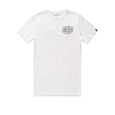Deus S/S Canggu Address Tee White