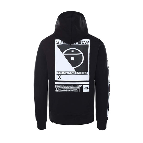 The North Face Steep Tech Logo Hood Black