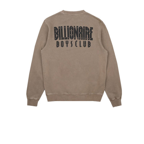 Billionaire Boys Club Damaged Crewneck Sweatshirt Taupe