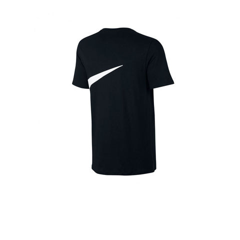 Nike Tee Oversized Swoosh Black White