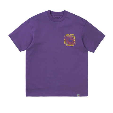 Carhartt S/S Virtual T-Shirt Dusty Mauve