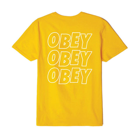 Obey Jumbled Eyes Gold