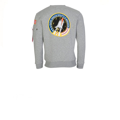 Alpha Industries Space Shuttle Sweater Grey Heather