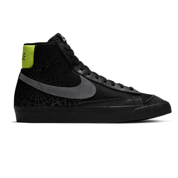 Nike NSW Blazer Mid '77 Black/Smoke Grey/Limelight