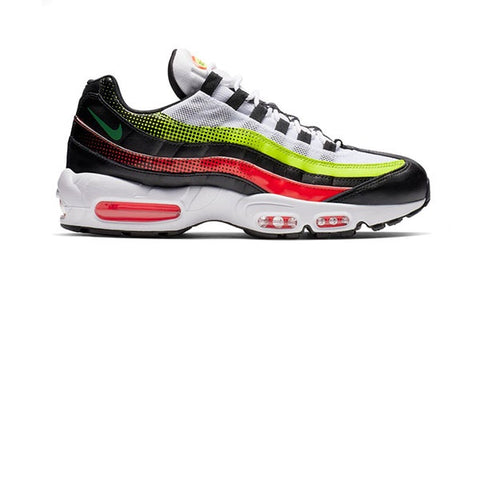 Nike Air Max 95 SE Black Aloe Verde Bright Crimson