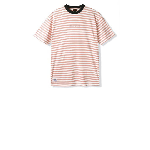 Butter Goods Butter Hampshire Stripe Tee Coral