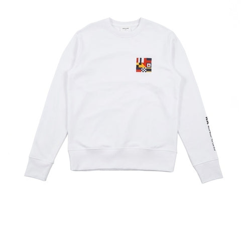 WOOD WOOD Parson Sweatshirt Bright White