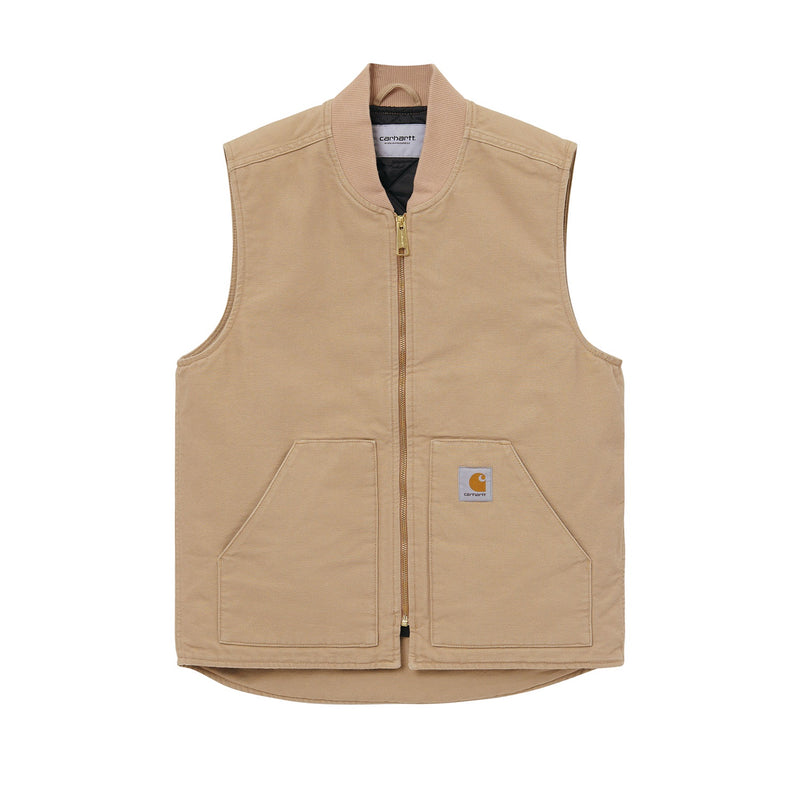 Carhartt WIP Classic Vest Organic Cotton Dusty H Brown (Rinsed)