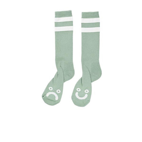 Polar Happy Sad Classic Sock Sea Foam Green