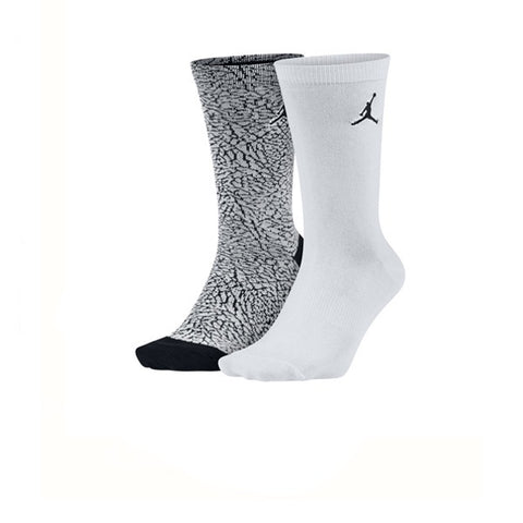 Air Jordan Elephant Crew 2 Pack Grey White