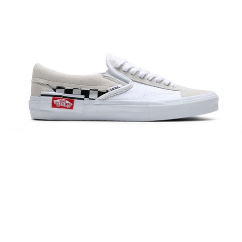 Vans Slip-On Cap (Checkerboard) True White Black