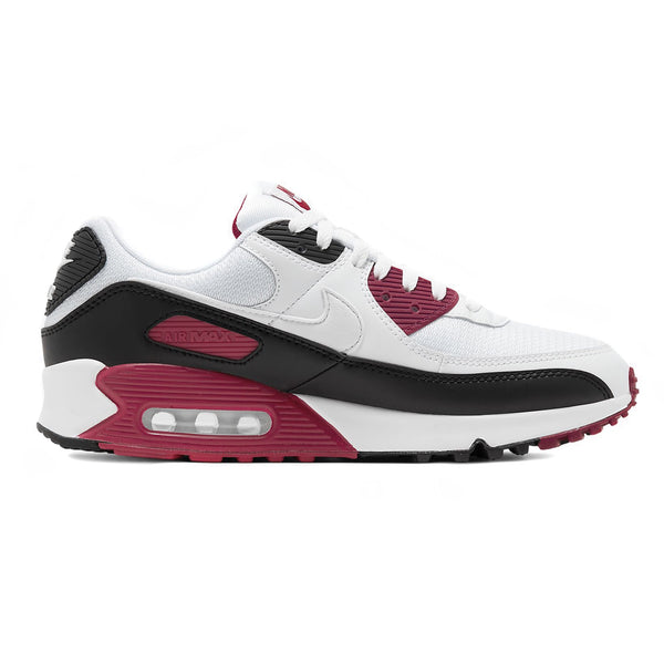 Nike Air Max 90 White/New Maroon/Black
