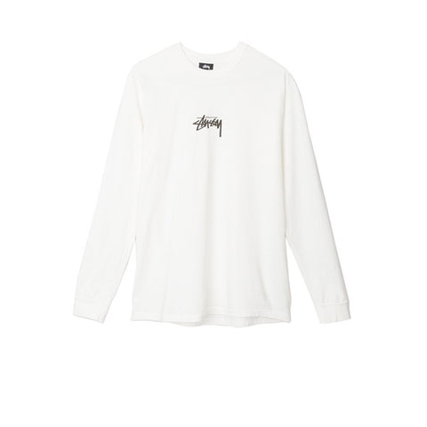 Stussy Stock Pig Dyed L/S Tee Natural