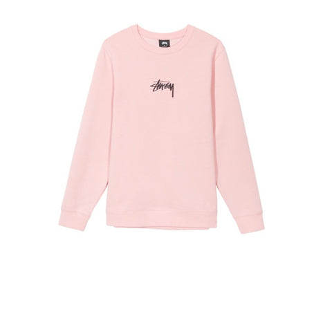 Stussy Stock App Crew Dusty Rose