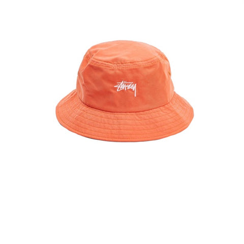 Stussy Stock Bucket Hat Orange