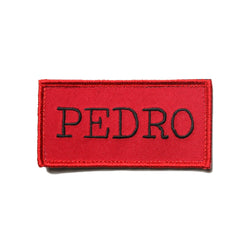 Kong Pedro Velcro Patch Red