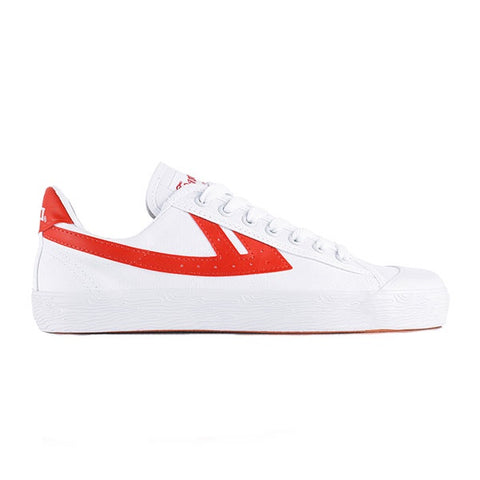 Warrior Shanghai Classic Low White Red