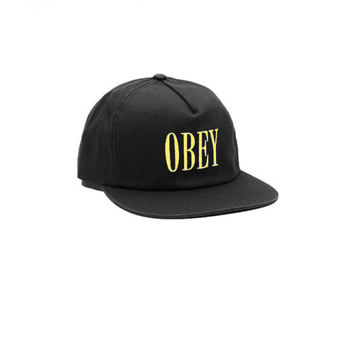 Obey Polly Snapback Black