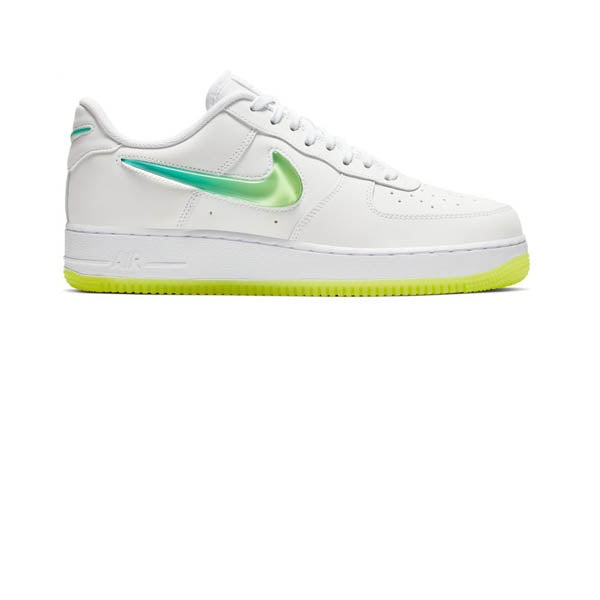 grand choix de 82e97 fa91f Nike Air Force 1 07 Premium 2 White Volt Hyper Jade