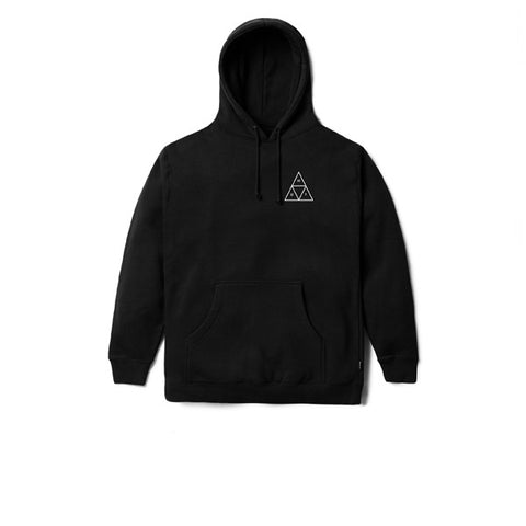 HUF Triple Triangle Pullover Fleece Black