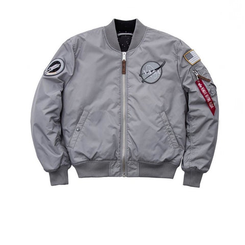 Alpha Industries MA-1 VF NASA RP Jacket Sliver