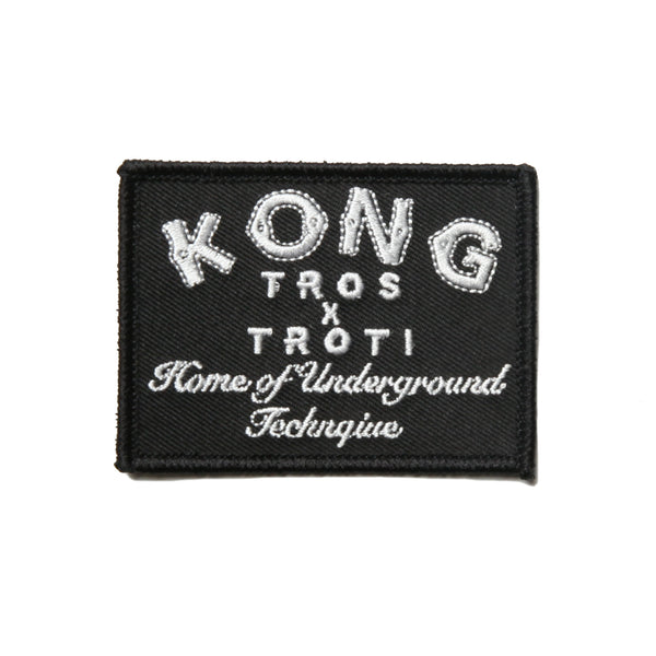 Kong TROS x TROTI Patch Black