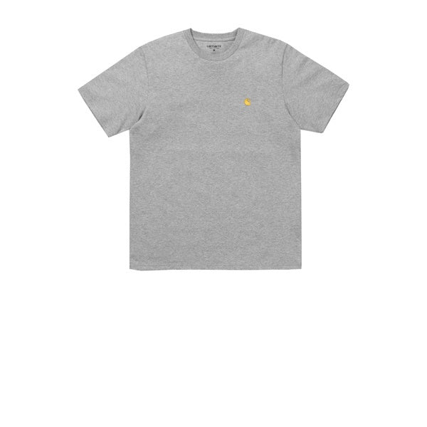 Carhartt S/S Chase T-Shirt Grey Heather Gold