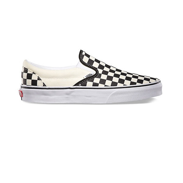 Vans Classic Slip-On Black White (Checkerboard)