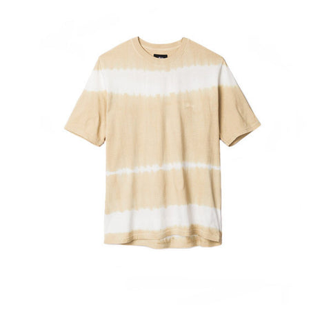 Stussy Spray Stripe Tee Khaki