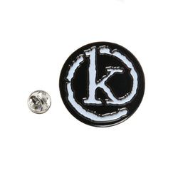 Kong K Logo Pin Black