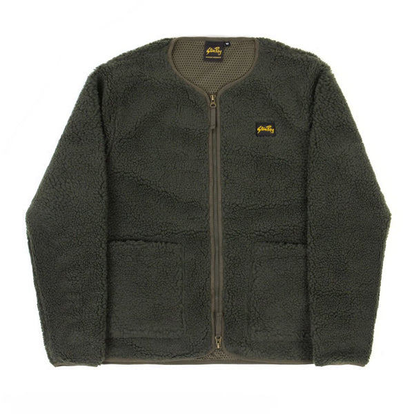 Stan Ray Fleece Layer Cardigan Olive