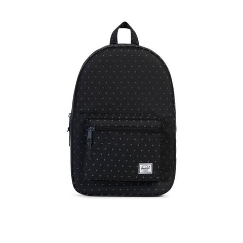 Herschel Settlemant Backpack Black Gridlock