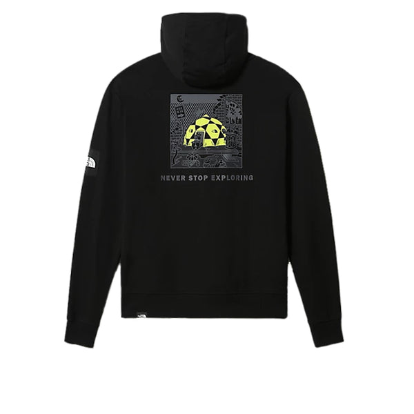 The North Face Black Box Hooded Fleece Black