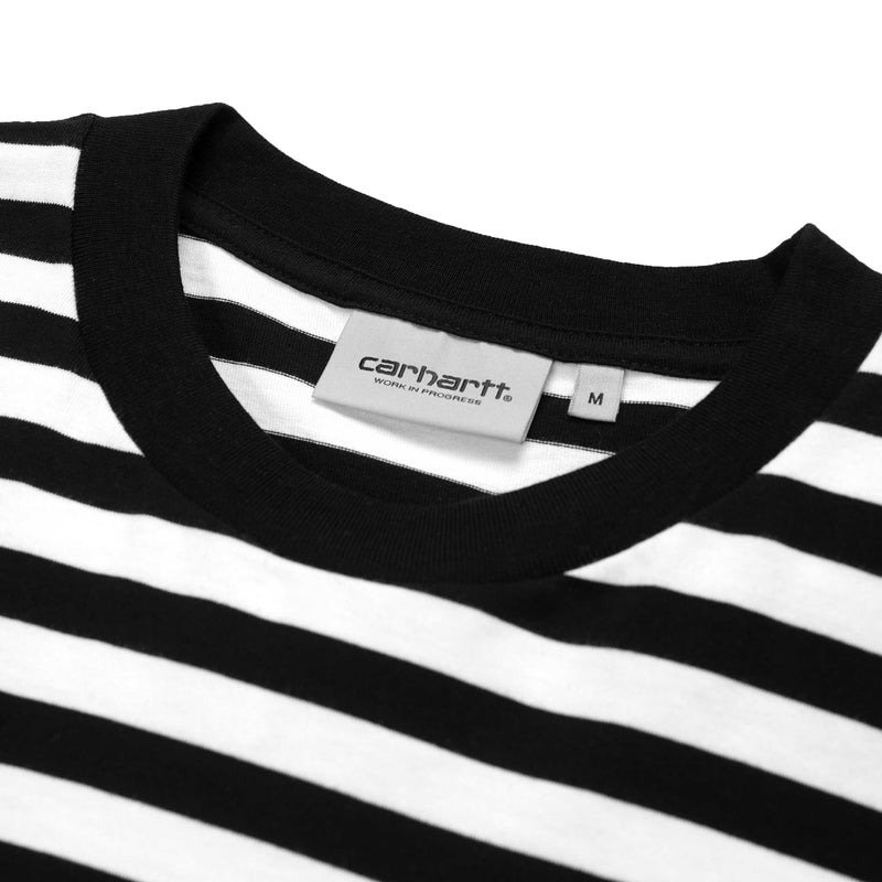 Carhartt Scotty Pocket T Shirt Black White
