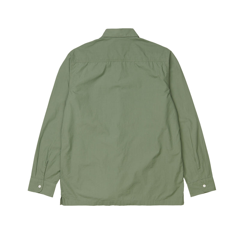Carhartt WIP L/S Creek Shirt Organic Cotton Dollar Green