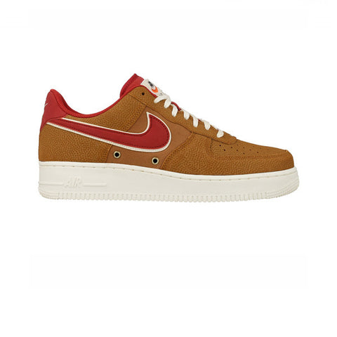 Nike Air Force 1 07 LV8 Tawny Gym Red