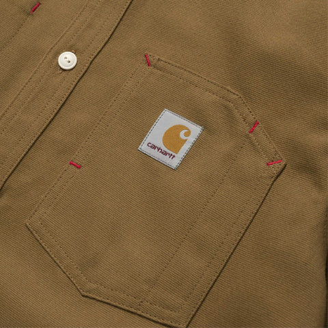Carhartt L/S Tony Shirt Hamilton Brown