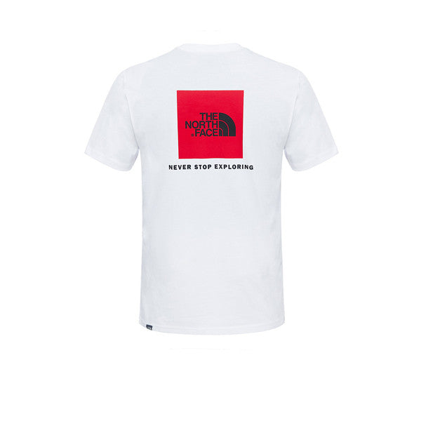 The North Face SS Red box Tee TNF White - Kong Online - 2