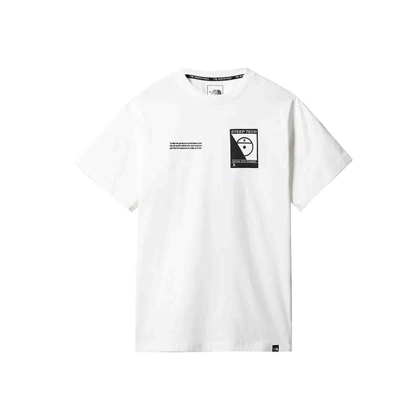 The North Face SS Steep Tech Tee White
