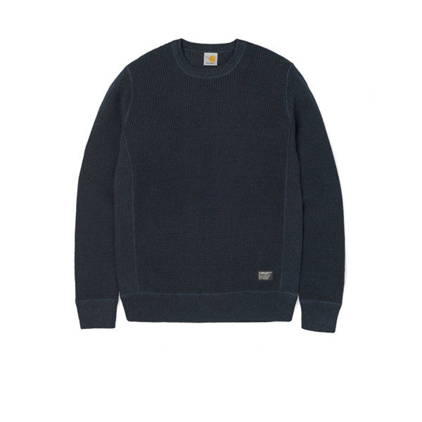 Carhartt Mason Sweather Navy Heather - Kong Online