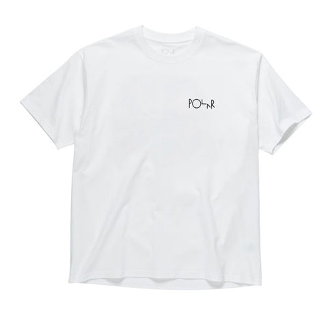 Polar TK Fill Logo Tee White