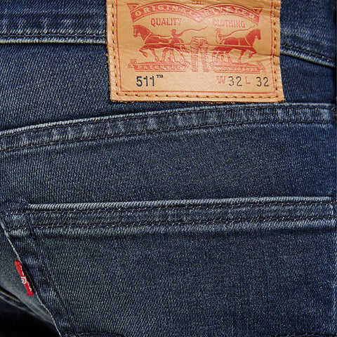 Levi's 511 Slim Fit 4 Barrel Indigo Washed - Kong Online - 2