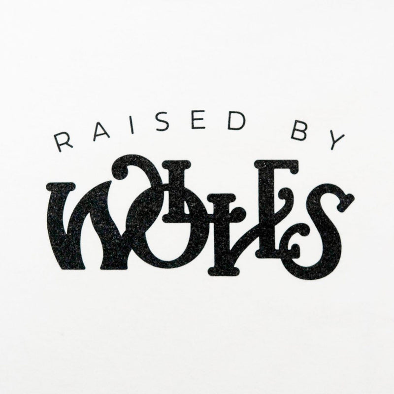 Raised by Wolves Menthol Tee White